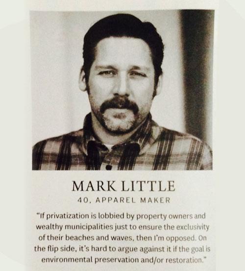 Mark Little, Surfer Magazine